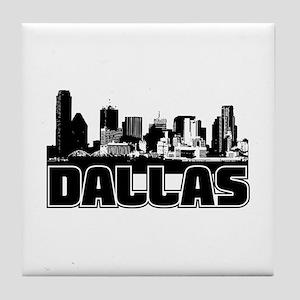 Dallas Skyline Tile Coaster