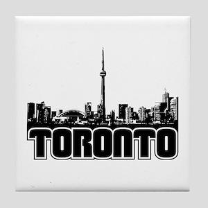 Toronto Skyline Tile Coaster