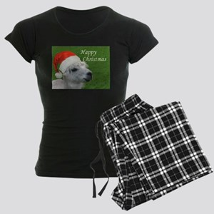 Alpaca Christmas Women's Dark Pajamas