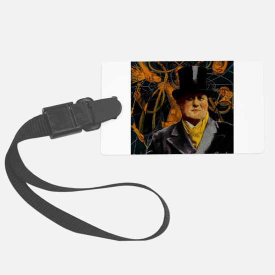 Aleister Crowley Luggage Tag