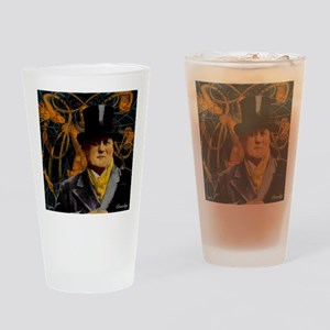 Aleister Crowley Drinking Glass