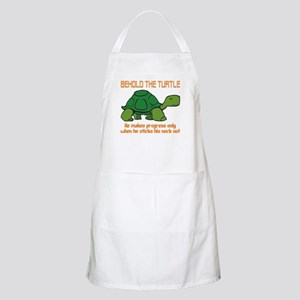 behold the turtle Apron
