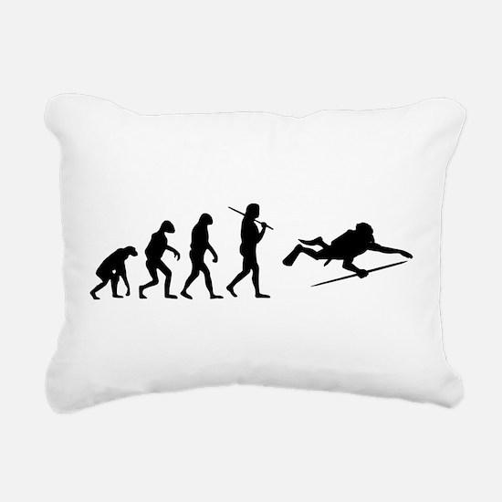 Cute Scuba diver Rectangular Canvas Pillow