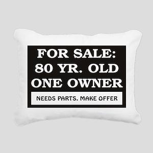 For Sale 80 Rectangular Canvas Pillow
