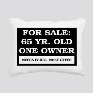 AGE_for_sale65 Rectangular Canvas Pillow