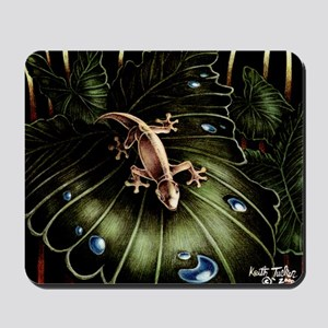 Thirsty Hawaiian Gecko Mousepad