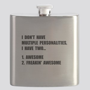 Two Personalities Flask