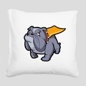 SuperBullieLRG Square Canvas Pillow