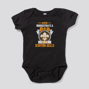 DAD WITH SCOUTING SKILLS SHIRTS Body Suit