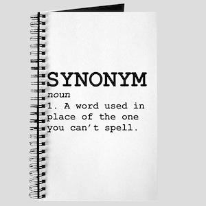 Synonym Definition Journal