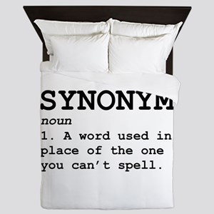 Synonym Definition Queen Duvet