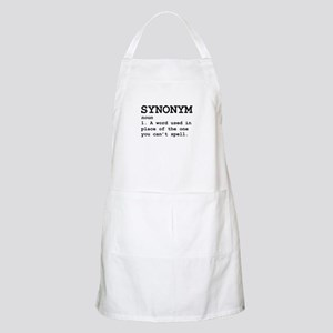 Synonym Definition Apron