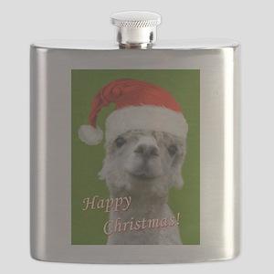 Cuddle Me Christmas Flask