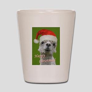 Cuddle Me Christmas Shot Glass