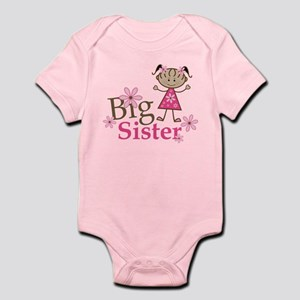 Ethnic Big Sister Infant Bodysuit