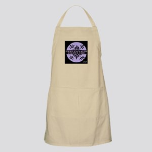 We can only depend on ourselves Apron