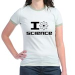 I Love Science Jr. Ringer T-Shirt