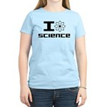 I Love Science Women's Light T-Shirt