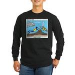 SCUBA Surprise Long Sleeve Dark T-Shirt