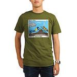 SCUBA Surprise Organic Men's T-Shirt (dark)