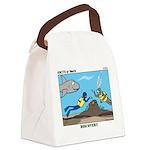 SCUBA Surprise Canvas Lunch Bag