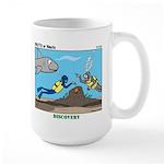 SCUBA Surprise Large Mug