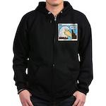 Scout Eagles Zip Hoodie (dark)