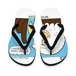 Scout Eagles Flip Flops