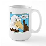 Scout Eagles Large Mug