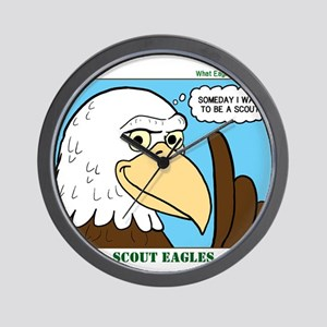 Scout Eagles Wall Clock