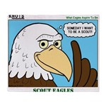 Scout Eagles Throw Blanket