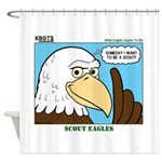 Scout Eagles Shower Curtain