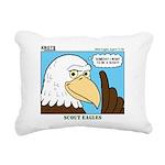 Scout Eagles Rectangular Canvas Pillow