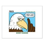 Scout Eagles Small Poster