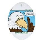 Scout Eagles Ornament (Oval)