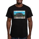 Next 100 Years Men's Fitted T-Shirt (dark)