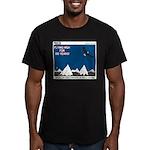 Flying High Men's Fitted T-Shirt (dark)