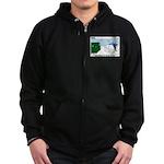 Winter Camping Zip Hoodie (dark)