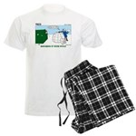 Winter Camping Men's Light Pajamas