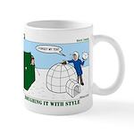 Winter Camping Mug