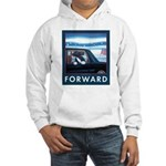 Forward with Bo, the first dog. Hooded Sweatshirt