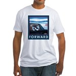 Forward with Bo, the first dog. Fitted T-Shirt