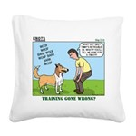 Dog Care Square Canvas Pillow