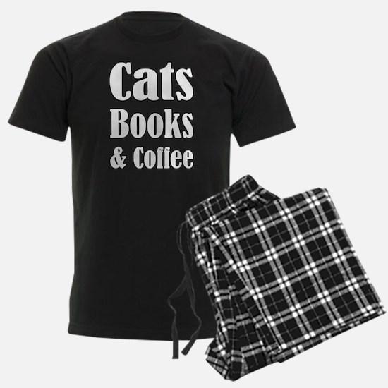 Cats Books & Coffee Pajamas