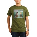 KNOTS Review Board Organic Men's T-Shirt (dark)