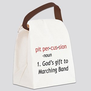 Pit Definition Canvas Lunch Bag
