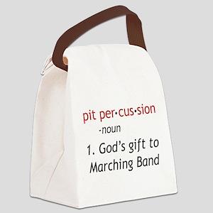 Pit Definition Canvas Lunch Bag