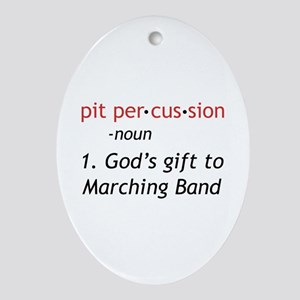 Pit Definition Ornament (Oval)