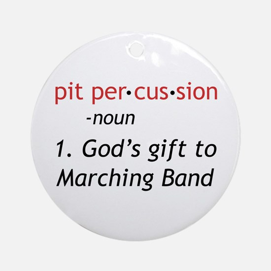 Pit Definition Ornament (Round)