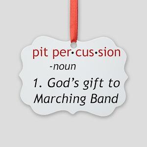 Pit Definition Picture Ornament
